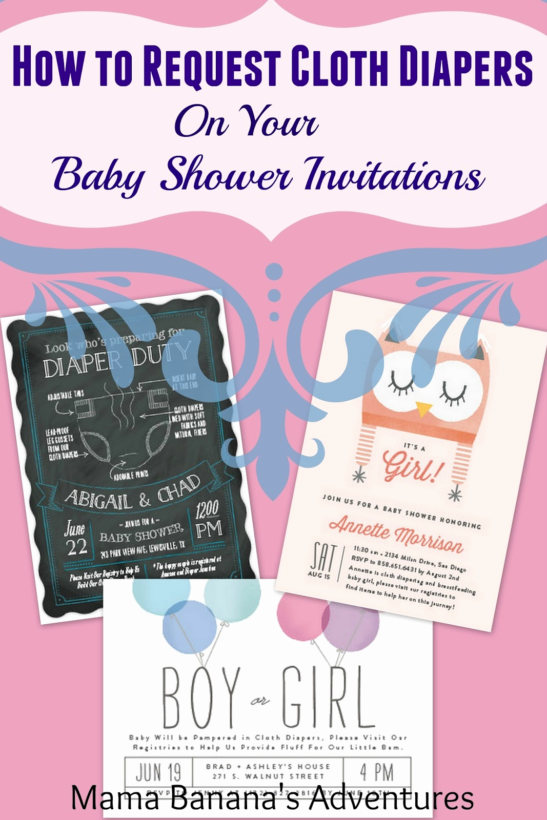 Cloth Diaper Baby Shower Invitation Unique How to Request Cloth Diapers On Your Baby Shower
