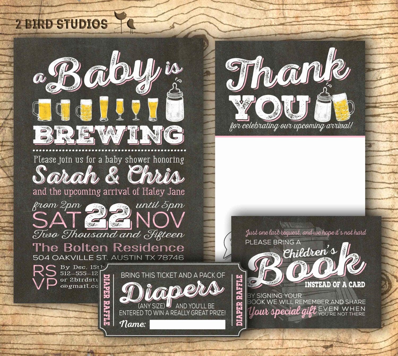 Co Ed Baby Shower Invitation Beautiful Coed Baby Shower Invitation Diaper Shower Add On Diaper