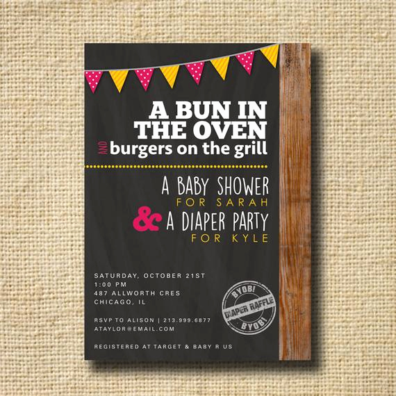 Co Ed Baby Shower Invitation Inspirational Couples Baby Shower Invitation Co Ed Baby Shower by