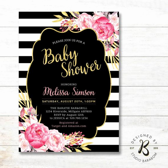 Co Ed Baby Shower Invitation Inspirational Girl Baby Shower Invitation Co Ed Couples Baby Shower