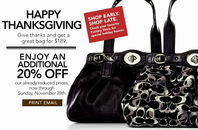 Coach Factory Online Invitation Inspirational Coach Canada Factory Outlet Black Friday Sale Save