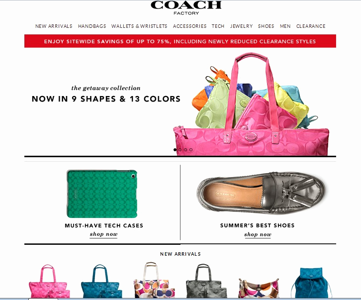 Coach Factory Online Invitation Luxury Addicted to Line Shopping Coach Factory Sale July 31 2013