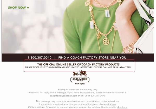 Coach Factory Online Sale Invitation Beautiful Ficial Coach Factory Store Products now Available Line