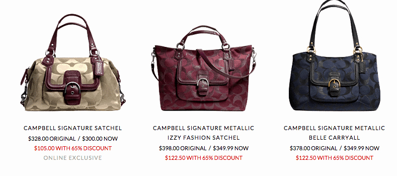 Coach Factory Online Sale Invitation New Huge Coach Outlet Sale Additional F Free Shipping
