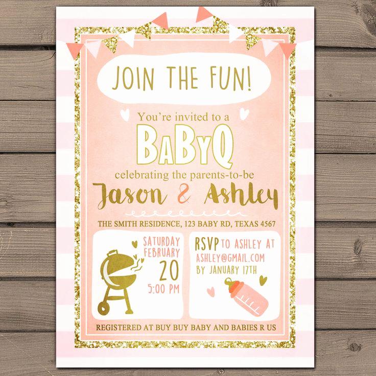 Coed Baby Shower Invitation Ideas Inspirational Best 25 Baby Q Shower Ideas On Pinterest