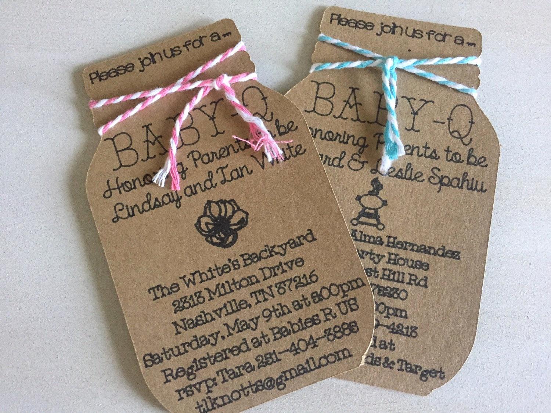 Coed Baby Shower Invitation Ideas Lovely Baby Q Invitation Bbq Baby Shower Coed Baby Shower by