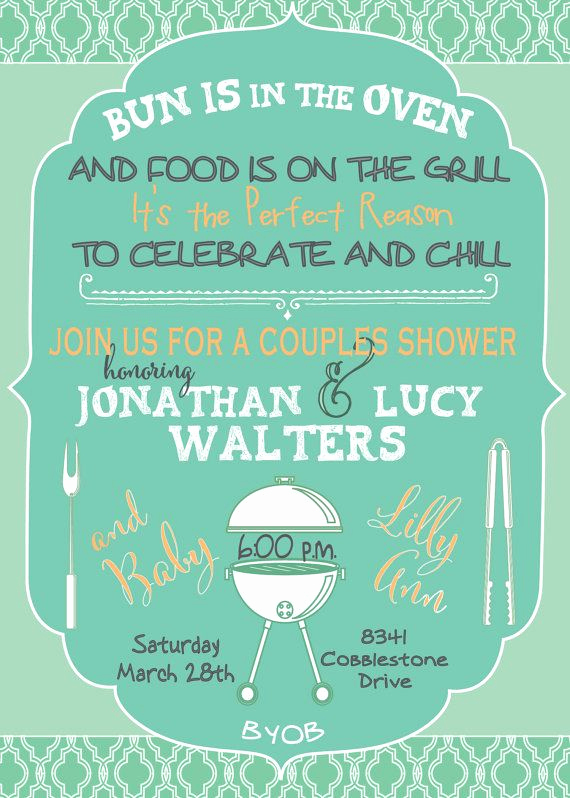 Coed Baby Shower Invitation Templates Awesome Best 25 Couples Baby Showers Ideas On Pinterest