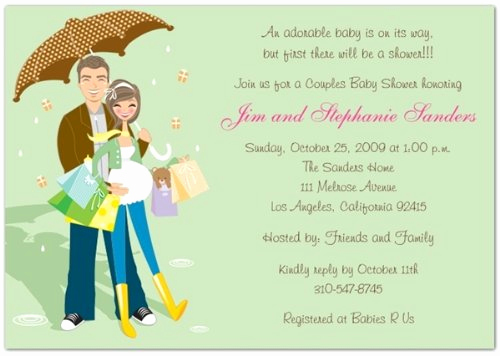 Coed Baby Shower Invitation Templates Inspirational Coed Baby Shower Invitations Wordings