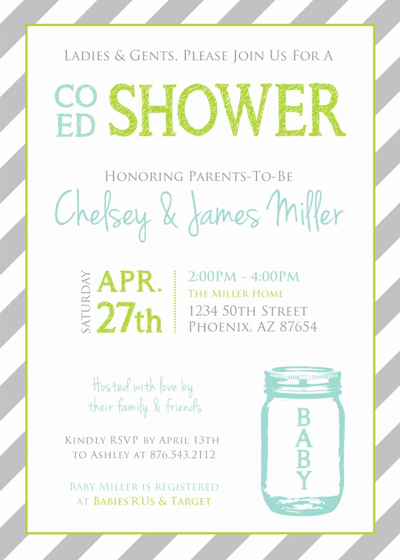 Coed Baby Shower Invitation Templates Lovely Best 25 Coed Baby Shower Invitations Ideas On Pinterest