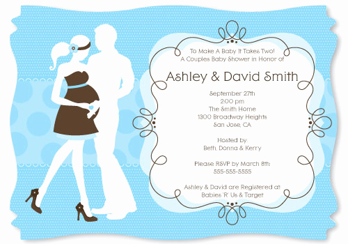 Coed Baby Shower Invitation Wording New Baby Shower Invitation Wording that's Cute and Catchy