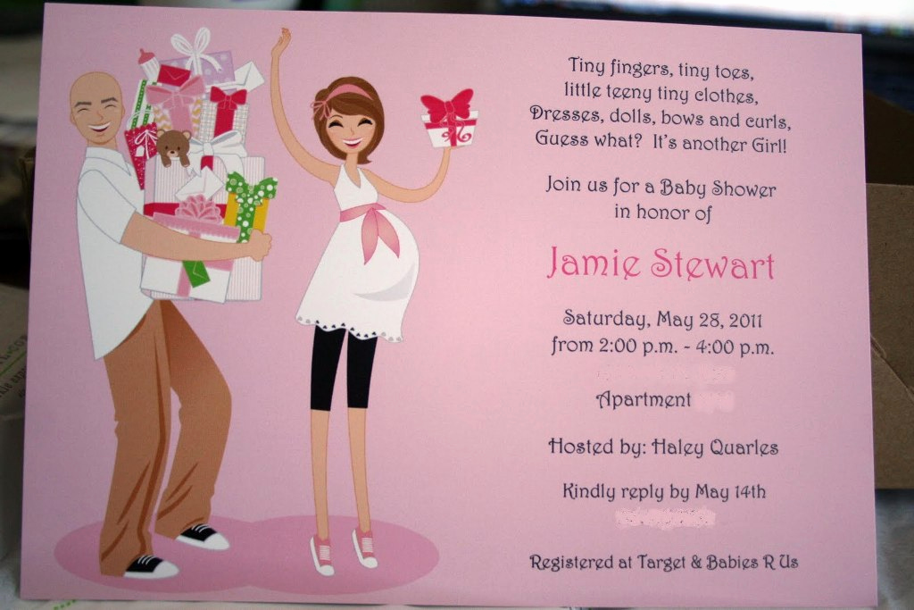 Coed Baby Shower Invitation Wording Unique Coed Baby Shower Invitations Wording Party Xyz