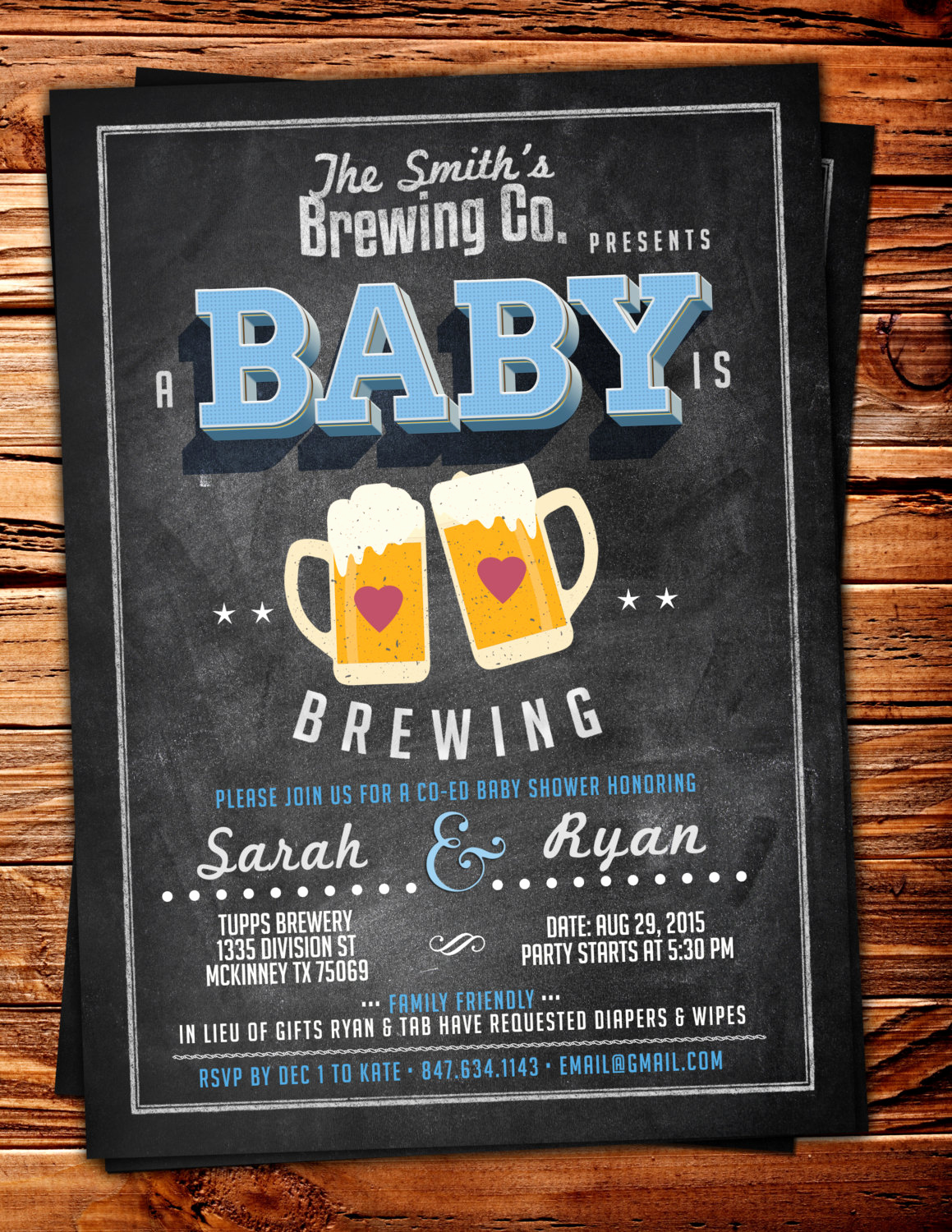 Coed Shower Invitation Wording Inspirational Coed Baby Shower Invitation Beer Baby Shower Invitation