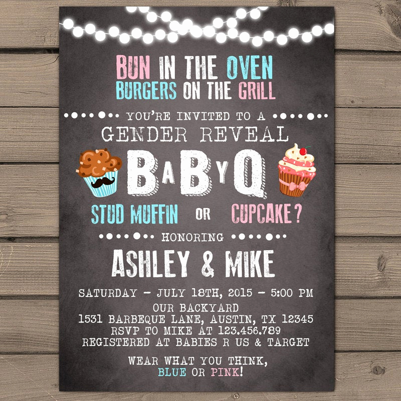 Coed Shower Invitation Wording New Baby Q Invitation Coed Baby Shower Invite Bbq Invitation