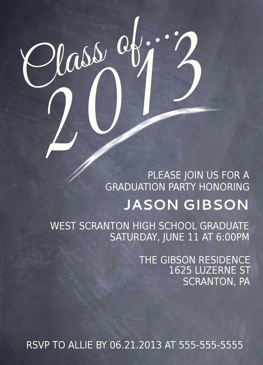 College Grad Party Invitation Awesome Printable Graduation Party Invitation Graduation Announcement
