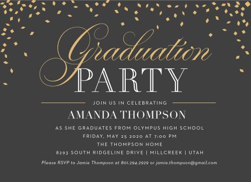 College Grad Party Invitation Inspirational 2019 Graduation Announcements & Invitations for High
