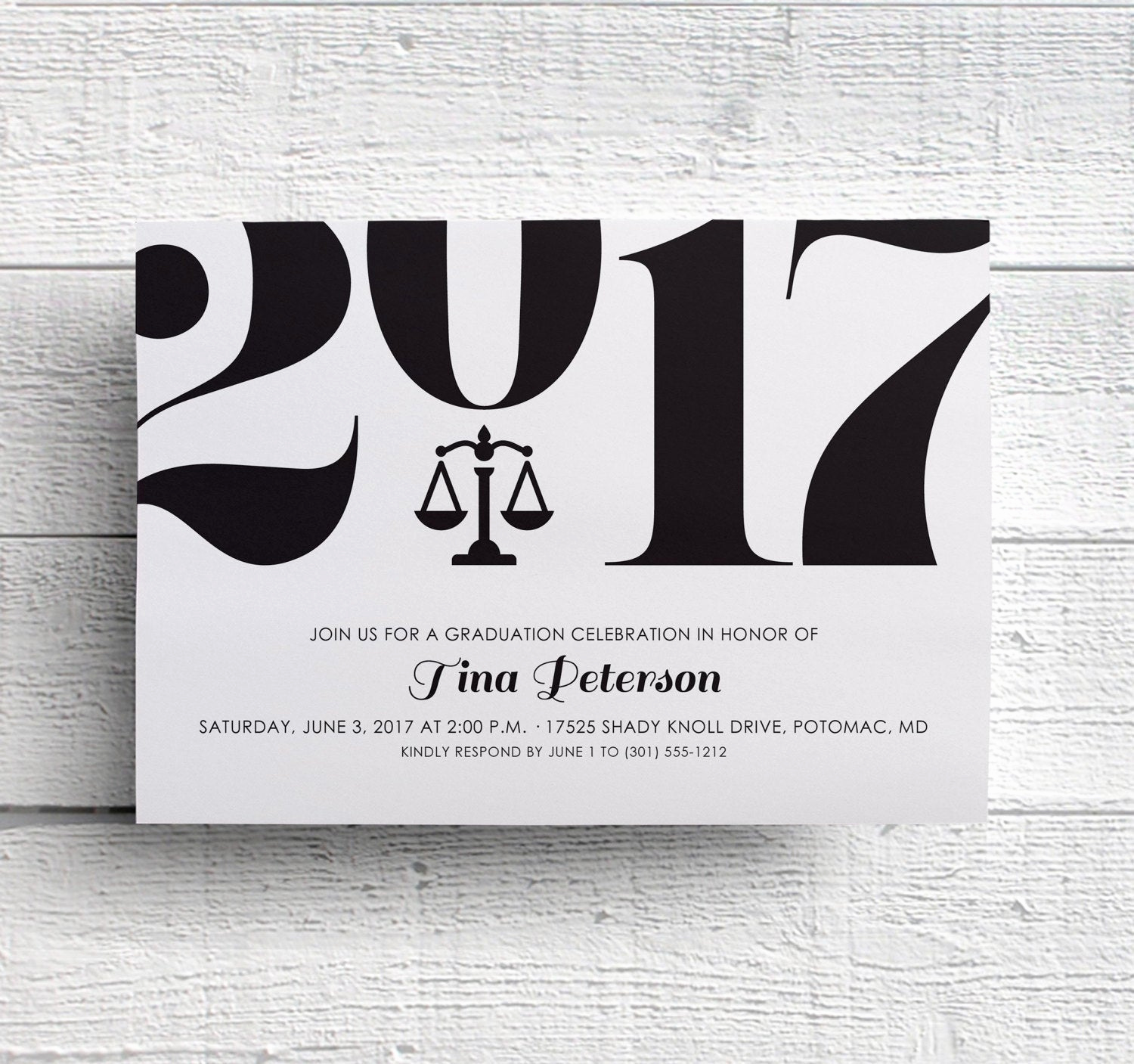 College Grad Party Invitation Lovely Law School Graduation Party Invitation Printable Invite