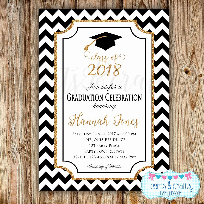College Grad Party Invitation New Graduation Party Invitation College Graduation Invitation