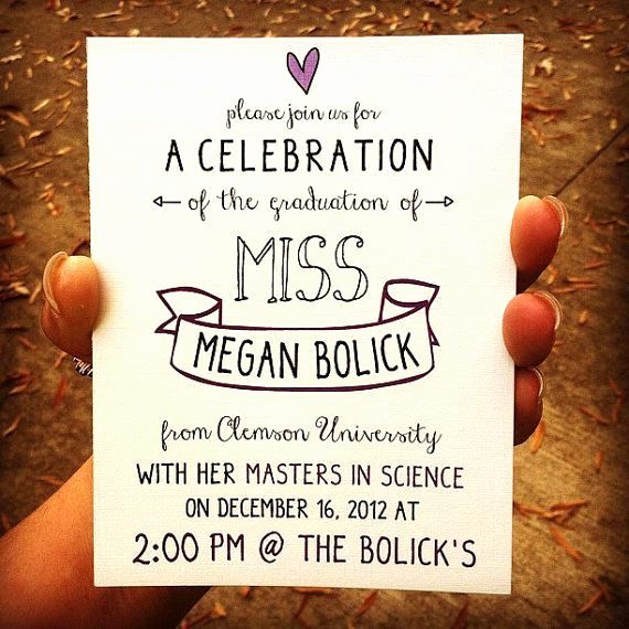 College Graduation Invitation Cards Awesome Diy Graduation Announcements Google Search