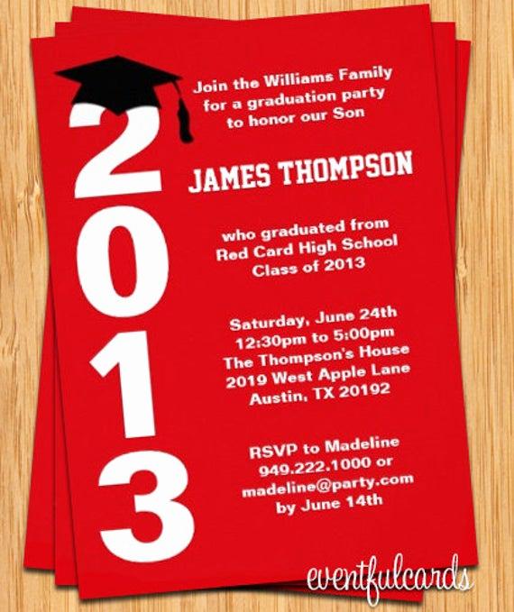 College Graduation Invitation Cards Beautiful Class Of 2017 High School College Graduation Invitation