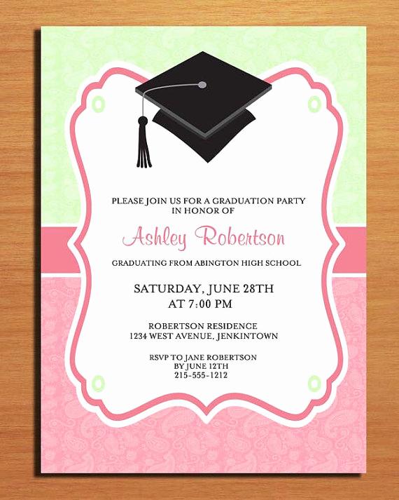 College Graduation Invitation Cards Best Of Graduation Invitation Card Branditprintit