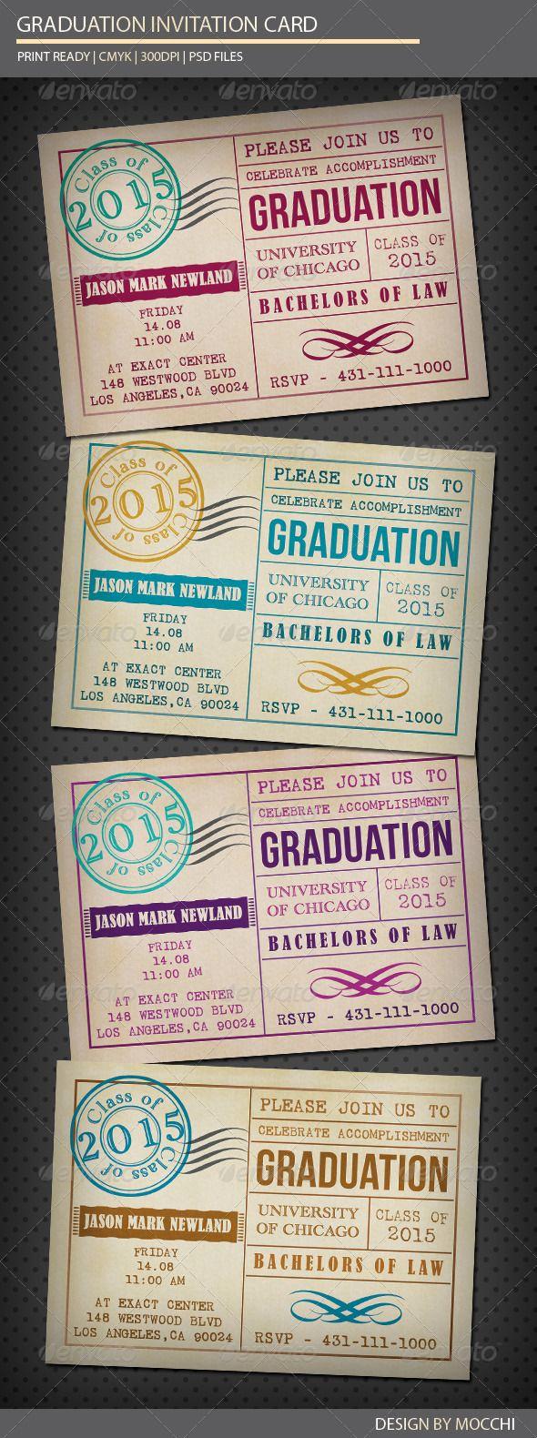 College Graduation Invitation Cards Fresh Best 25 Graduation Invitations Ideas On Pinterest