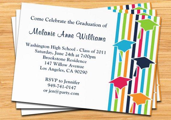 College Graduation Invitation Cards Fresh Open House Graduation Invitations Templates