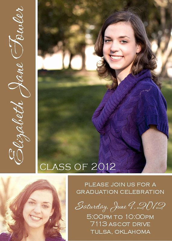 College Graduation Invitation Ideas Inspirational 1000 Images About Graduation Announcement Ideas On