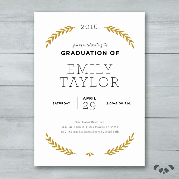 College Graduation Invitation Ideas Lovely Best 25 Graduation Invitations Ideas On Pinterest