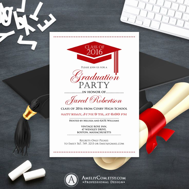 College Graduation Invitation Ideas New Best 25 High School Graduation Invitations Ideas On
