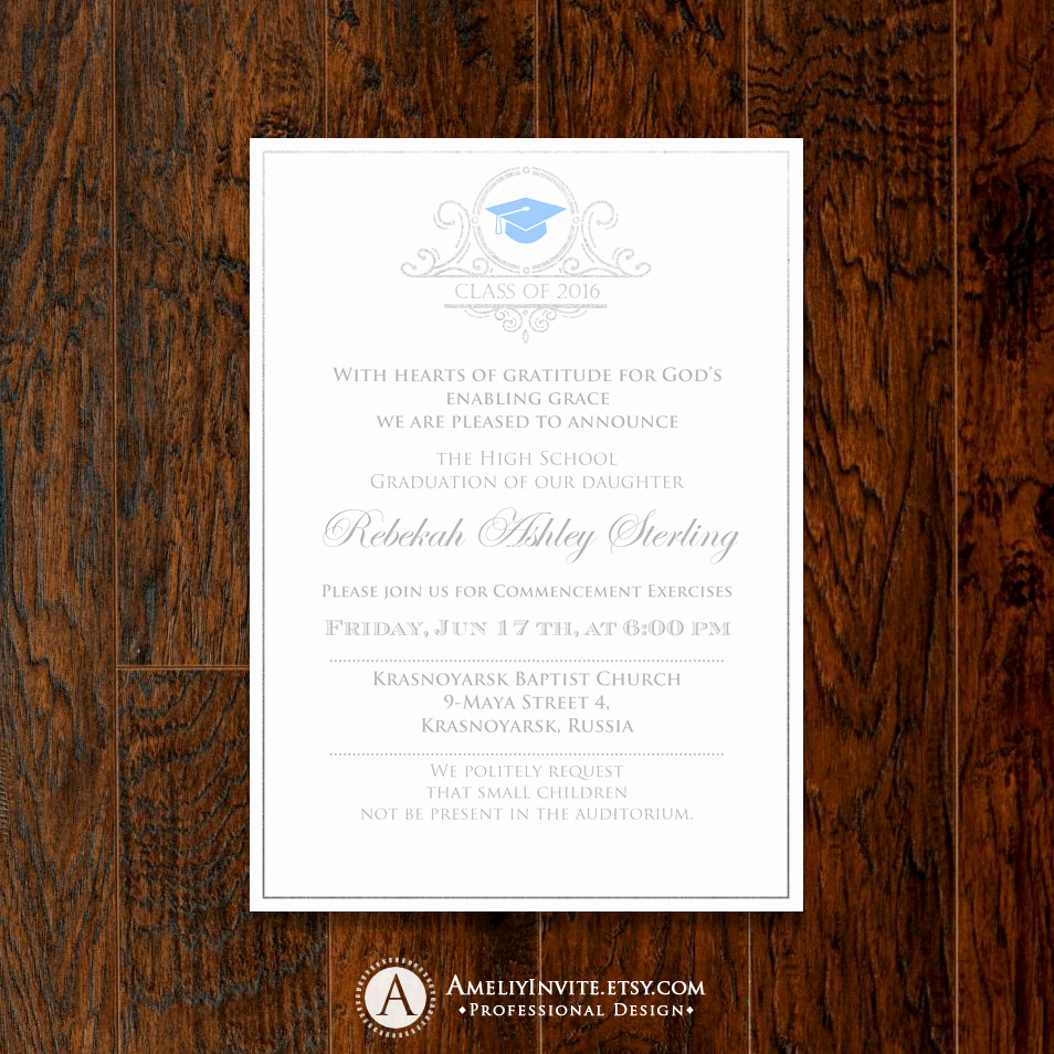 College Graduation Invitation Template Lovely Graduation Invitation Template College Graduation