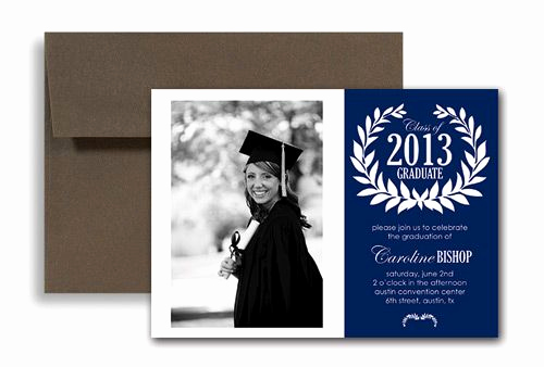 College Graduation Invitation Templates Fresh College Graduation Announcements Templates