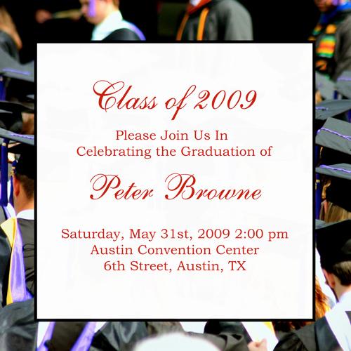 College Graduation Invitation Wording Beautiful Examples Graduation Announcements Quotes Quotesgram