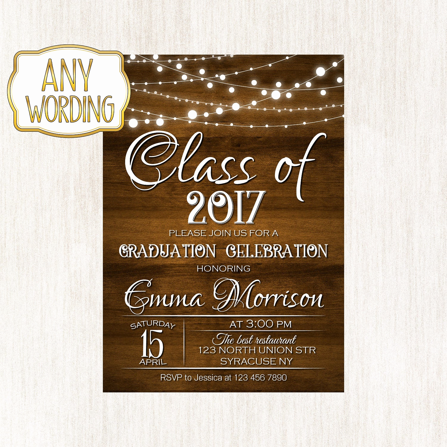 College Graduation Invitation Wording Luxury Graduation Celebration Invitation High School Graduation
