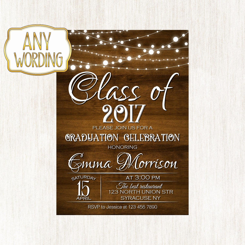 College Graduation Invitation Wording Luxury Graduation Celebration Invitation High School Graduation
