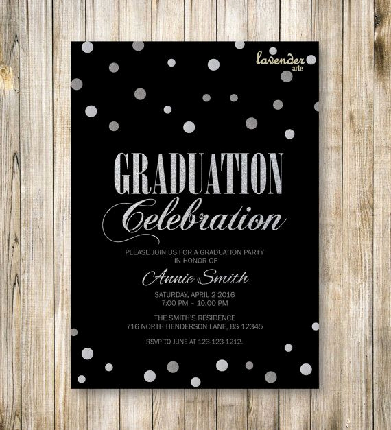 College Graduation Party Invitation Inspirational Best 20 Graduation Invitations College Ideas On Pinterest