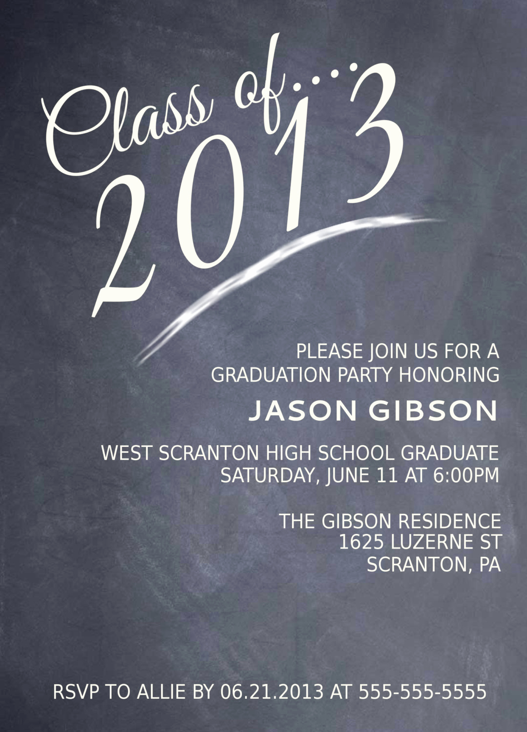 College Graduation Party Invitation Wording Awesome Printable Graduation Party Invitation Graduation Announcement
