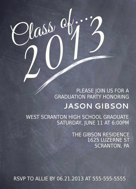 College Graduation Party Invitation Wording Awesome Printable Graduation Party Invitation Graduation Announcement