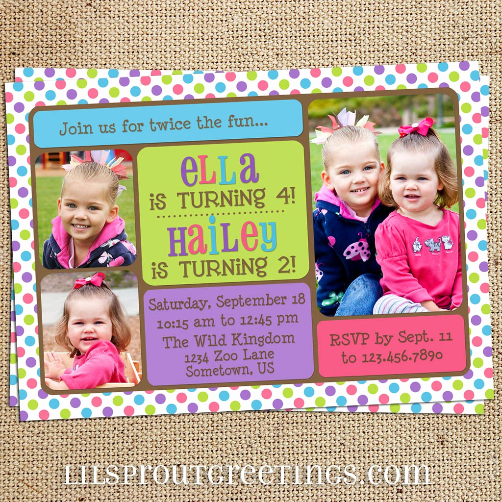 Combined Birthday Party Invitation Wording Inspirational Joint Birthday Party Invitation Wording