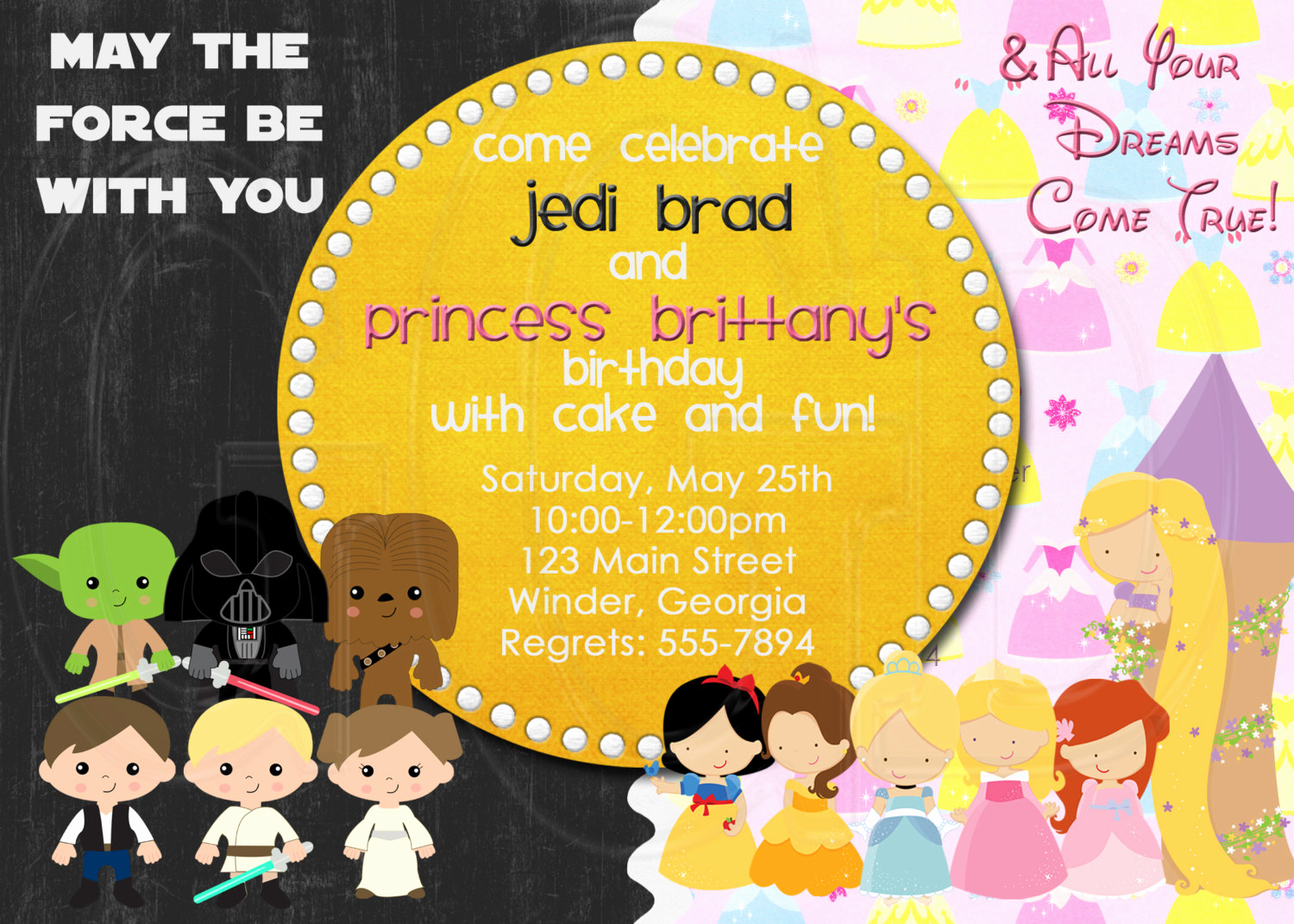 Combined Birthday Party Invitation Wording New Joint Birthday Party Invitation Wording