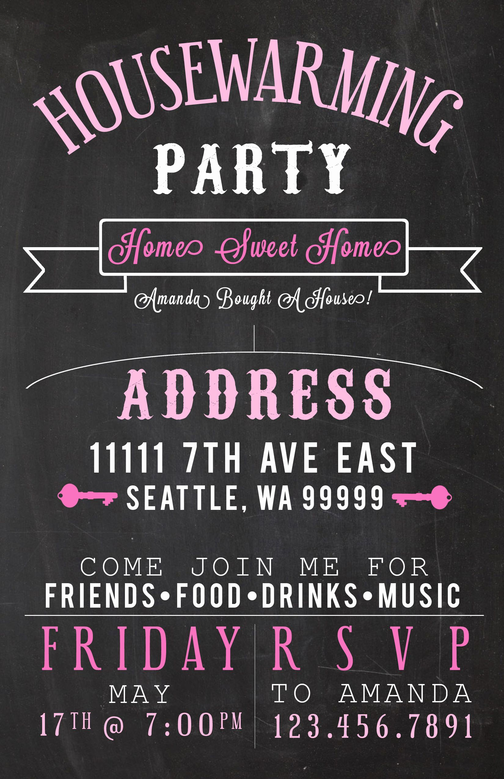 Come and Go Invitation Wording Beautiful Housewarming Party Invites Amandarobinett
