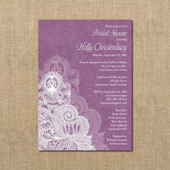 Come and Go Invitation Wording Elegant Bridal Shower Invitation Drop In E and Go Digital