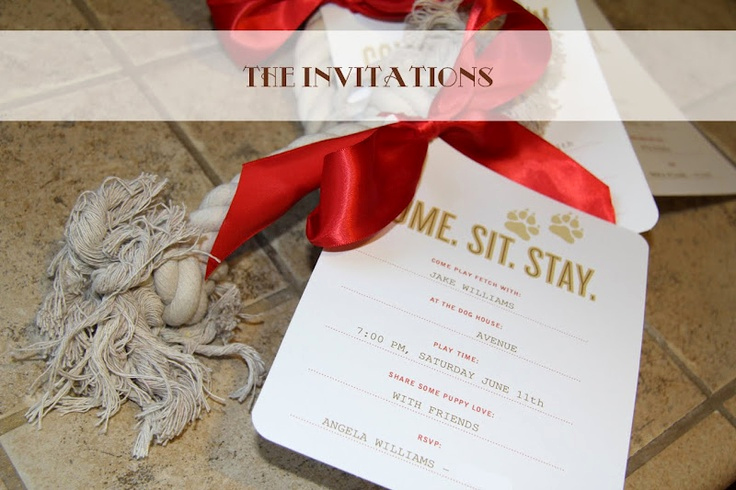 Come and Go Invitation Wording Elegant E Sit Stay Invitations so Cute Idea for Kellie S