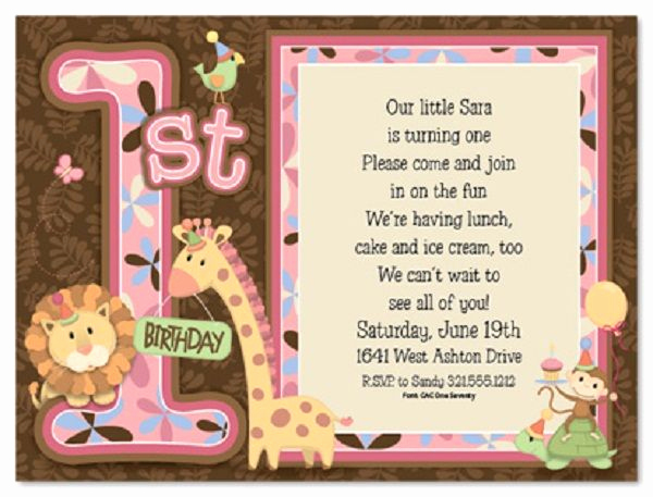 Come and Go Invitation Wording Fresh First Birthday Invitation Wording and 1st Birthday