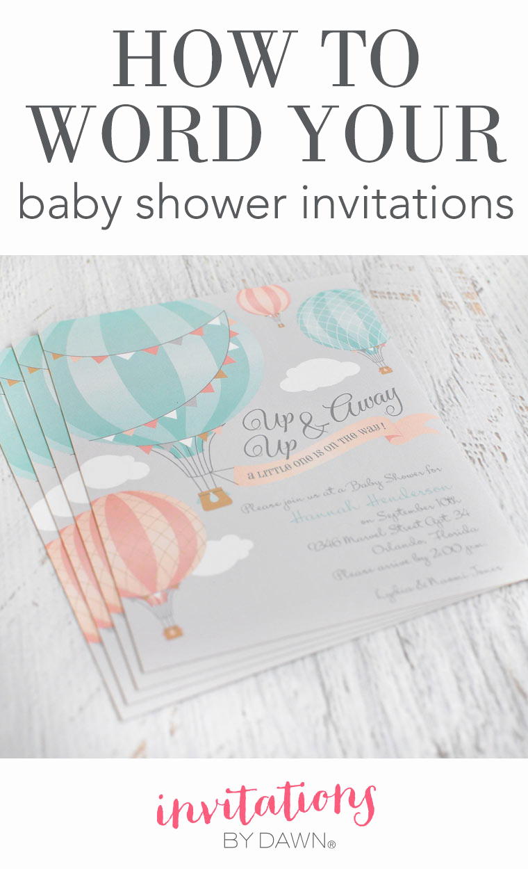 Come and Go Invitation Wording New How to Word Your Baby Shower Invitations