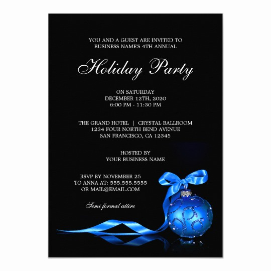 Company Holiday Party Invitation Awesome Corporate Holiday Party Invitations