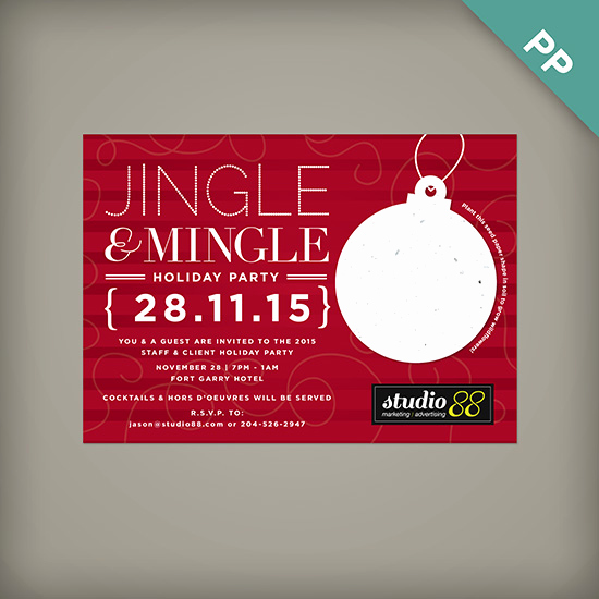 Company Holiday Party Invitation Best Of Jingle & Mingle Corporate Holiday Party Invitations