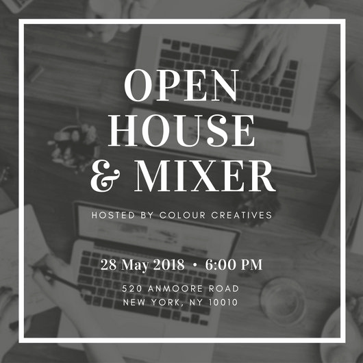 Company Open House Invitation Best Of Customize 498 Open House Invitation Templates Online Canva