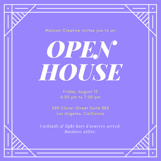 Company Open House Invitation Best Of Open House Invitation Templates Canva