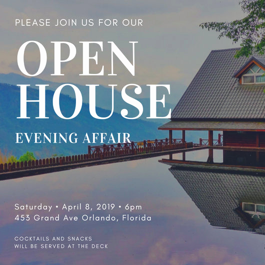Company Open House Invitation Lovely Customize 498 Open House Invitation Templates Online Canva