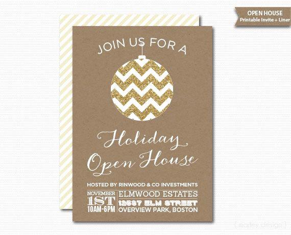Company Open House Invitation New Pany Open House Invitation Printable Christmas